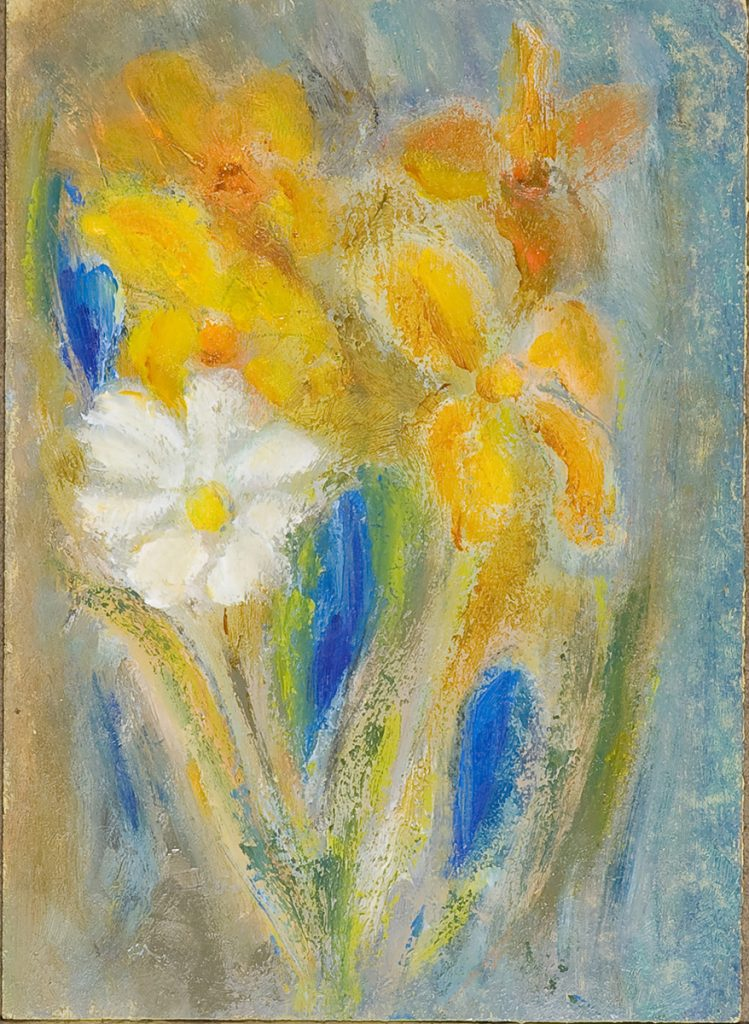 Bouquet with Iris by Colin Williams