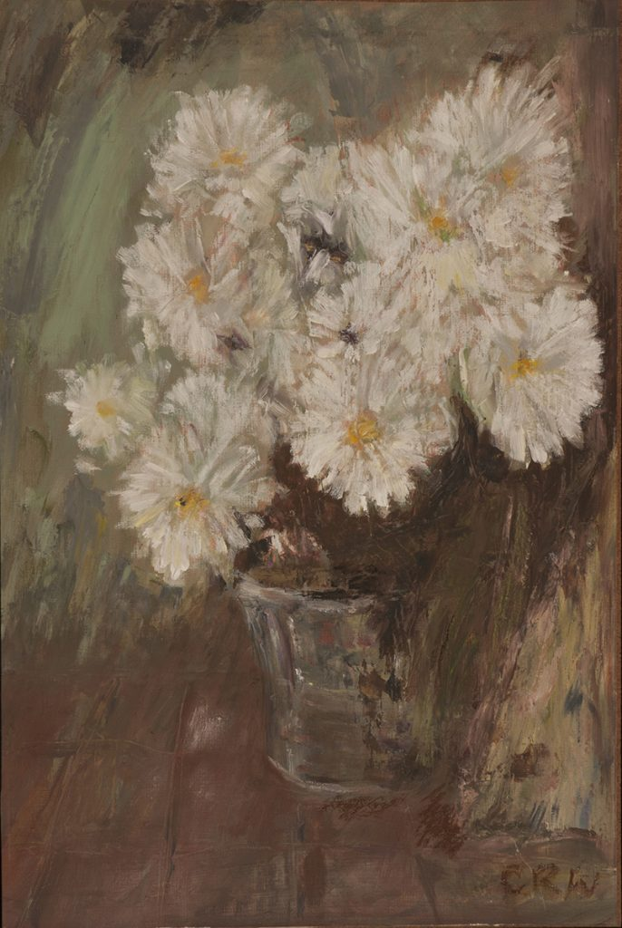Chrysanthemums by Colin Williams