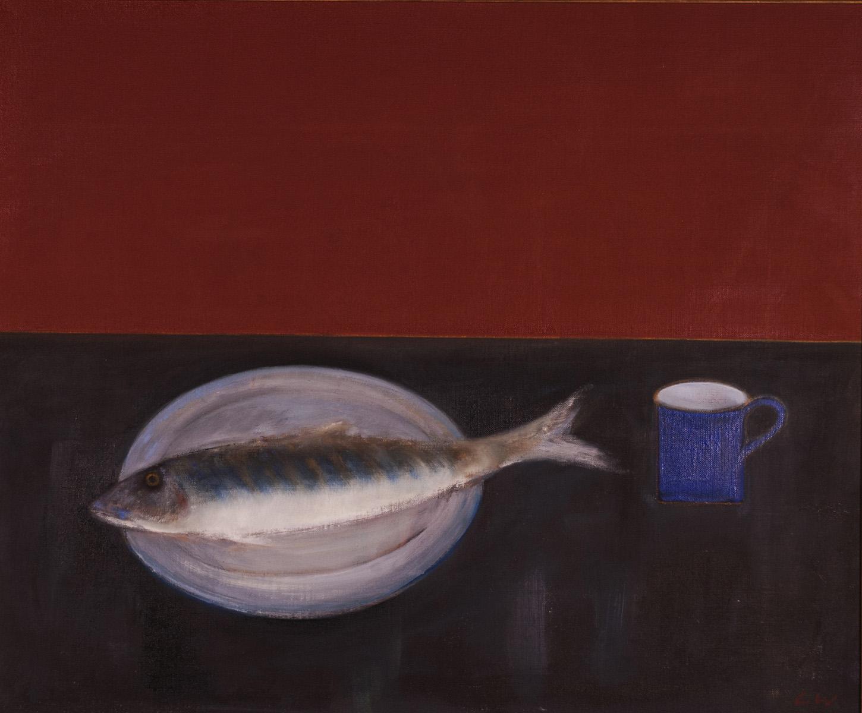 Fish & Blue Mug