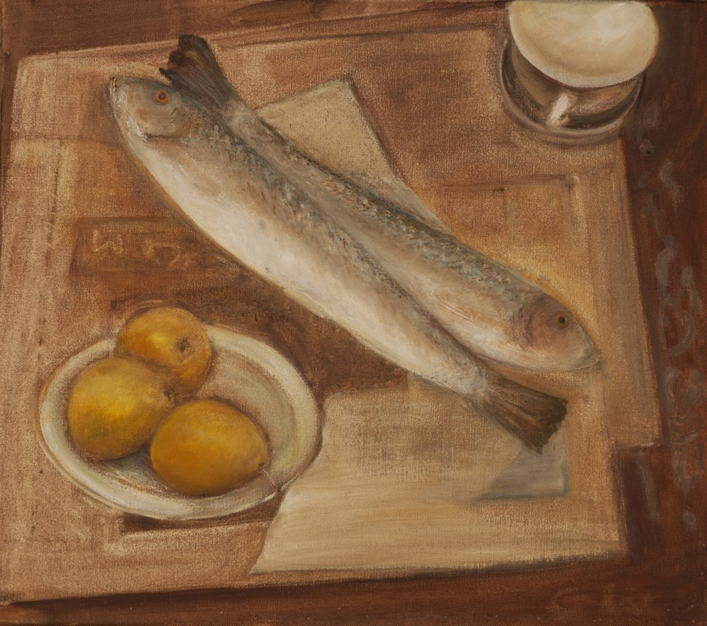 Fish & Quince by Colin Williams