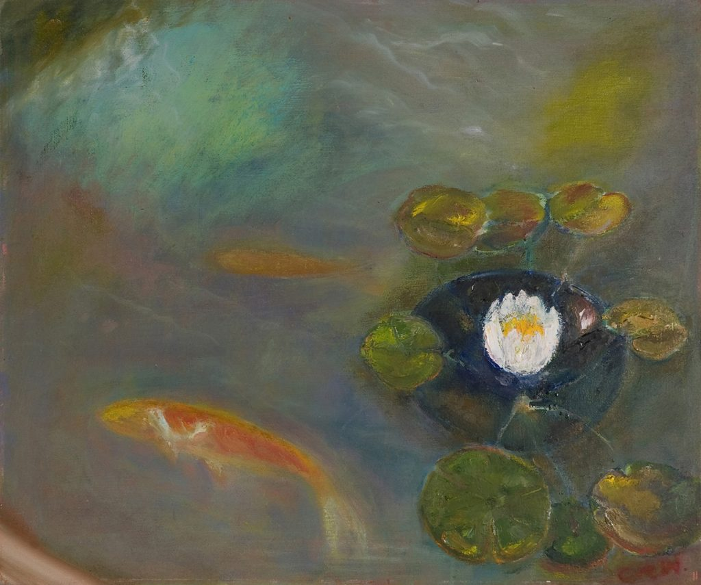 Goldfish at Mount Nelson by Colin Williams