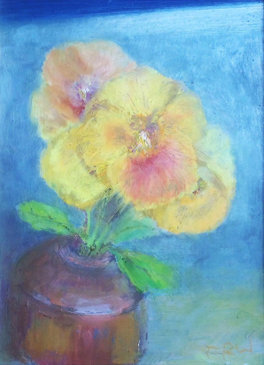 Pansies Yellow