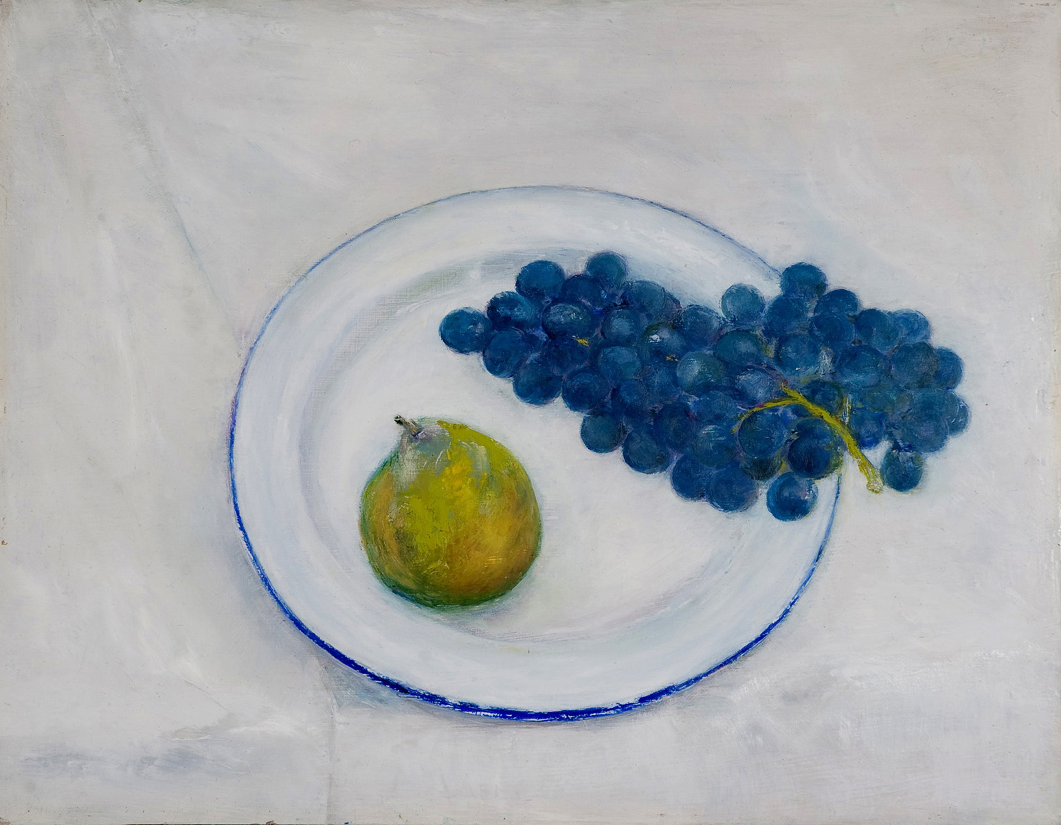 Pear & Grapes