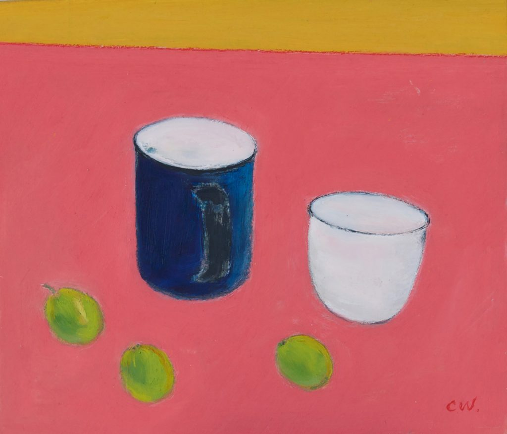 Still Life Blue Mug by Colin Williams
