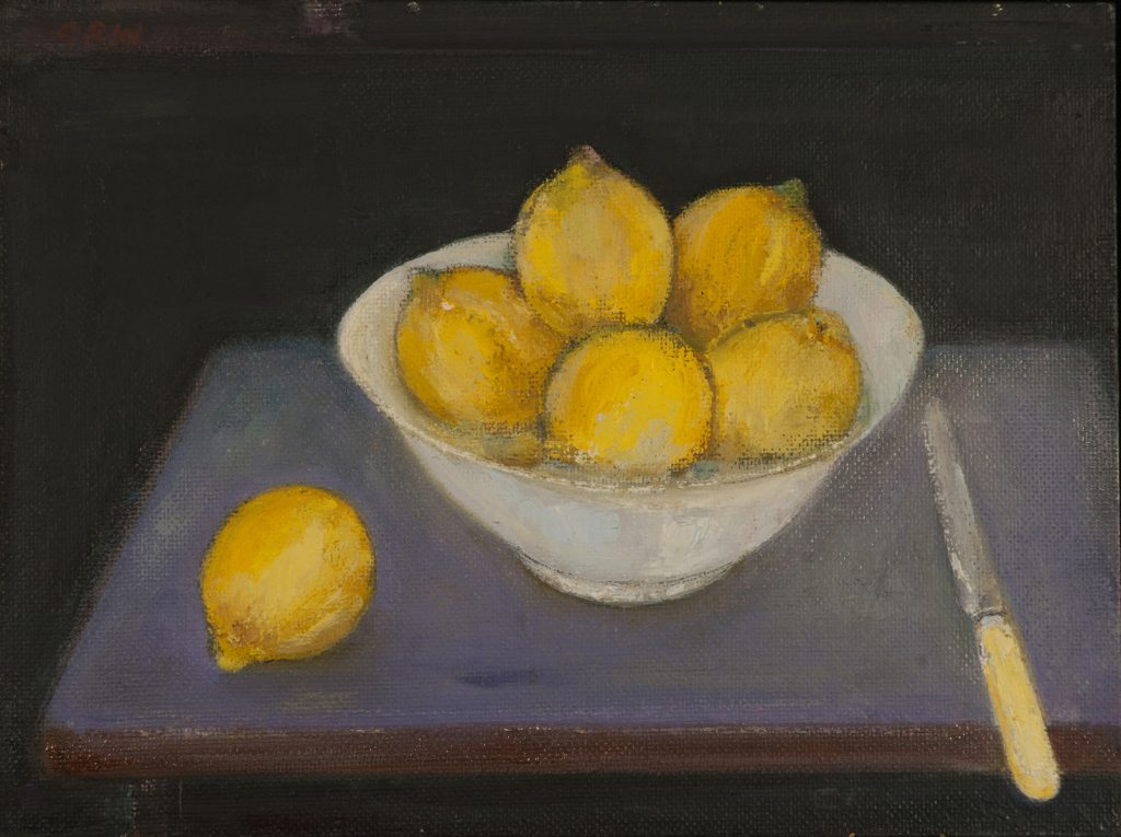 Still Life Lemons by Colin Williams