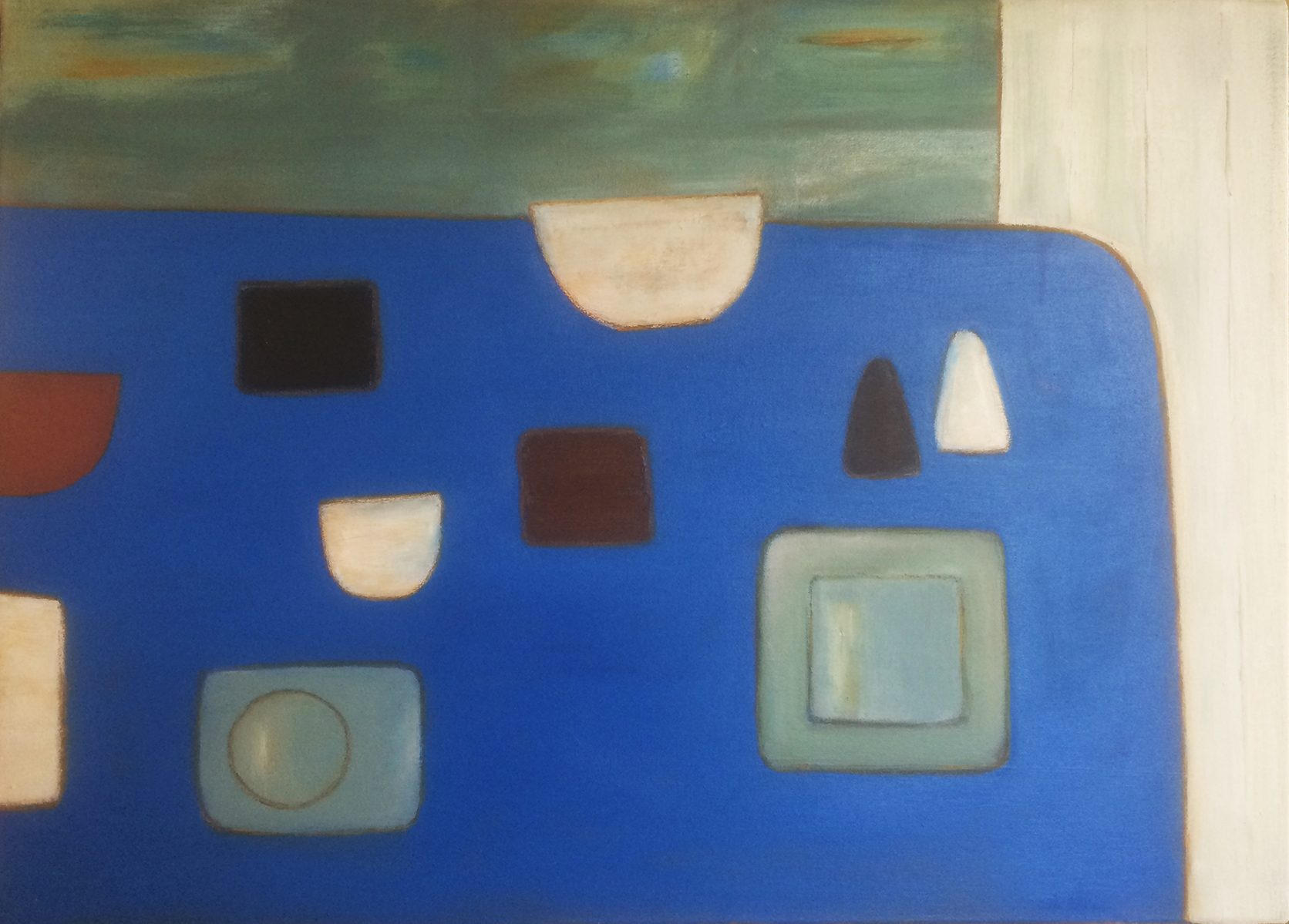 Abstract on Blue by Colin Williams