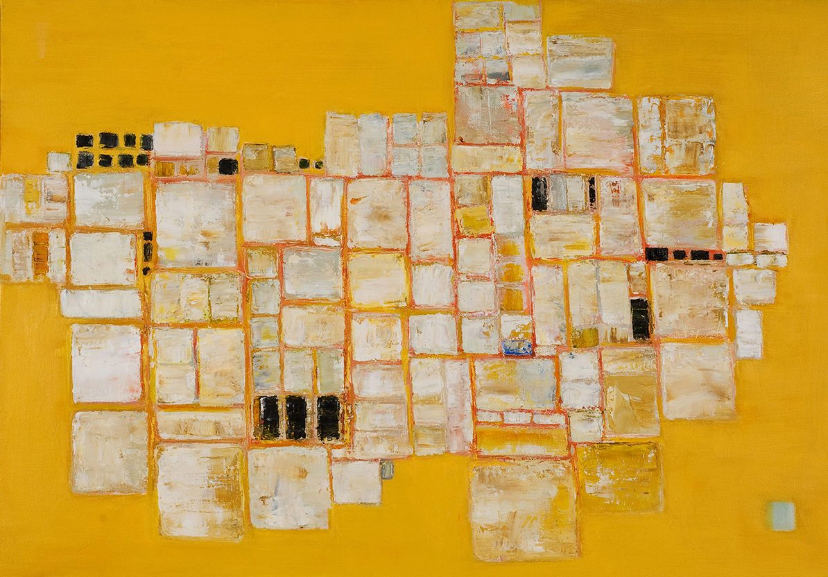 Composition on Yellow by Colin Williams