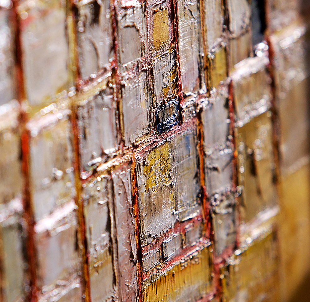 Composition on Yellow (Detail) by Colin Williams