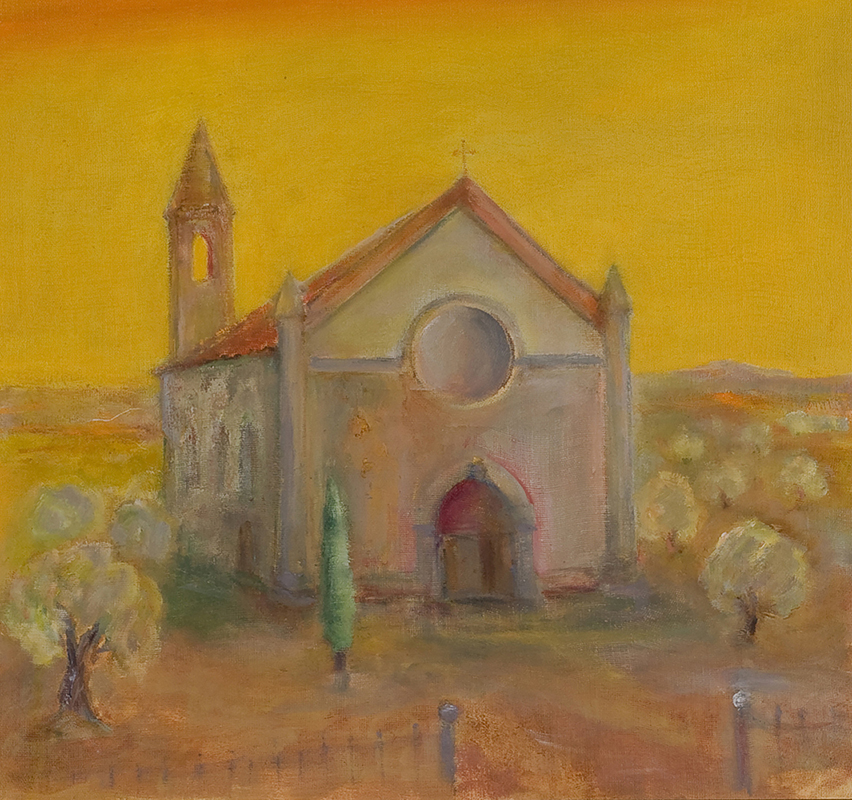 Church Umbria by Colin Williams