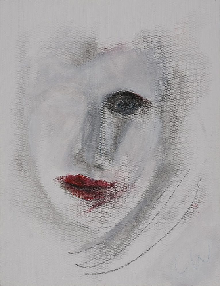 Head of woman by Colin Williams