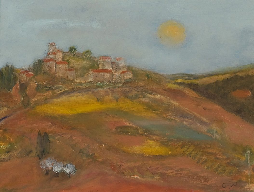 Hilltop umbria by Colin Williams
