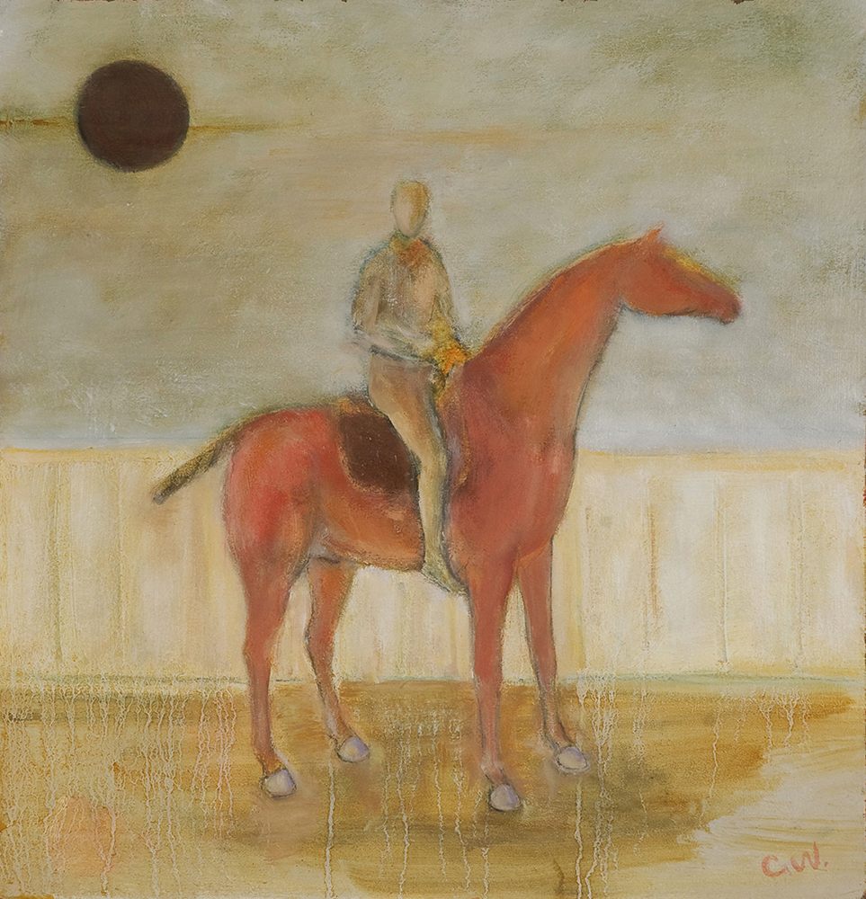 Horse & rider by Colin Williams