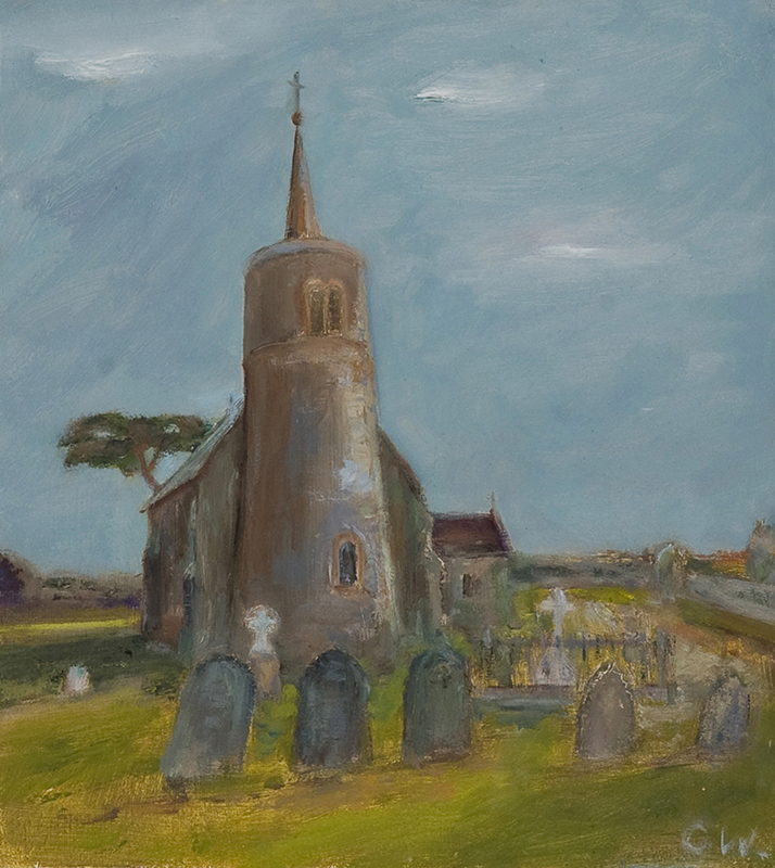 Titchwell church by Colin Williams
