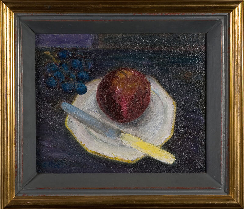 Red Apple (Framed)