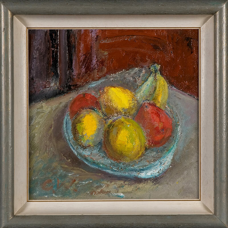 Still Life Fruit (Framed)